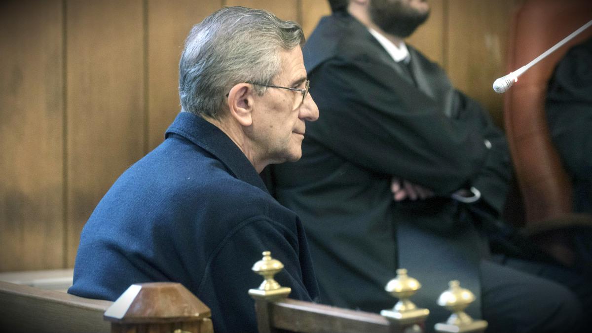 El padre Román, único acusado el juicio por abusos a menores el 'caso Romanones'. (EFE)