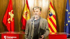 El alcalde podemita de Zaragoza, Pedro Santisteve (Foto: Efe)