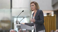 La ministra de Defensa y secretaria general del PP, María Dolores de Cospedal (Foto: Gtres)