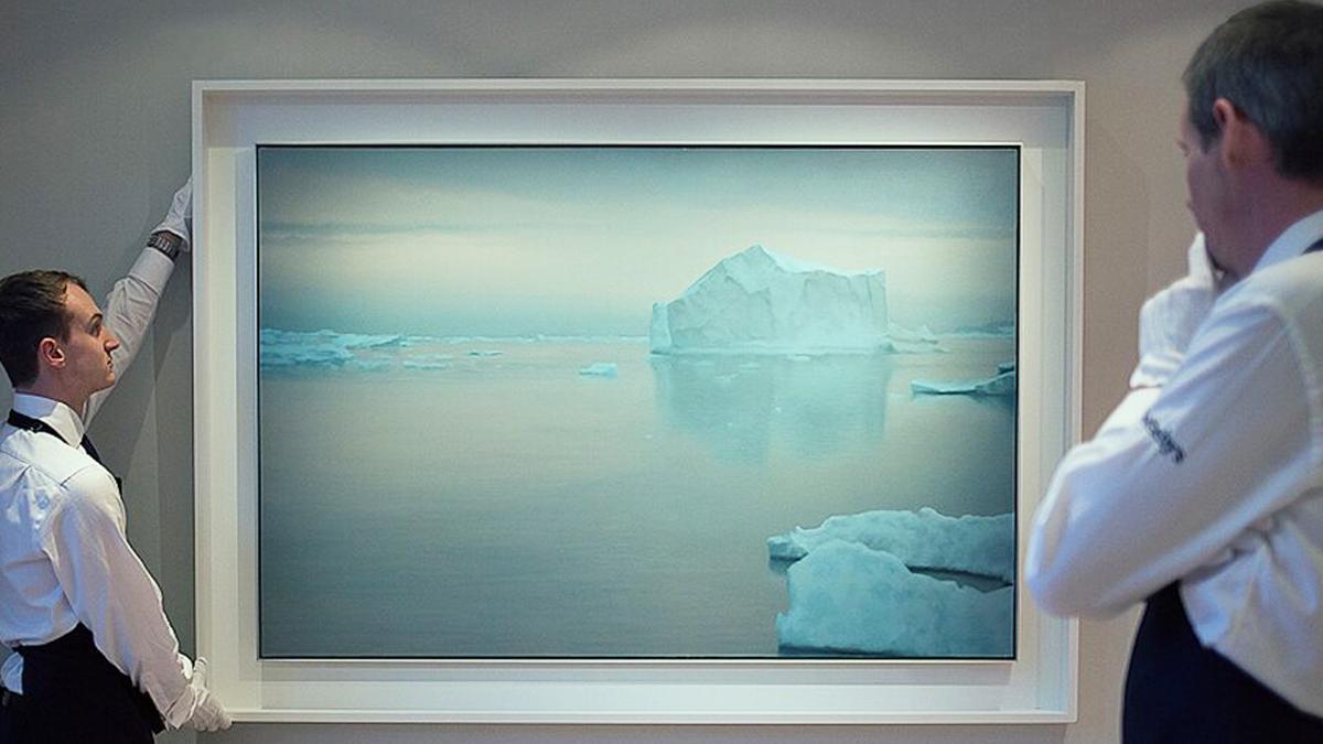 'Eisberg', de Gerhard Richter (1982).
