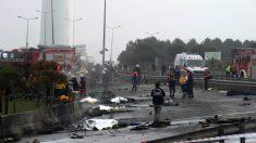 Al menos siete muertos en un accidente de helicóptero en Turquía  (Fotos: AFP)