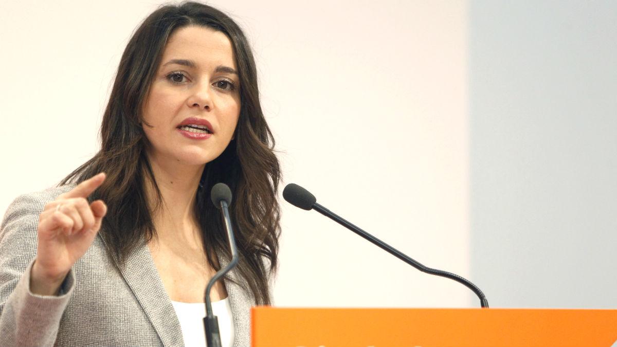 Inés Arrimadas. (Foto: EFE)