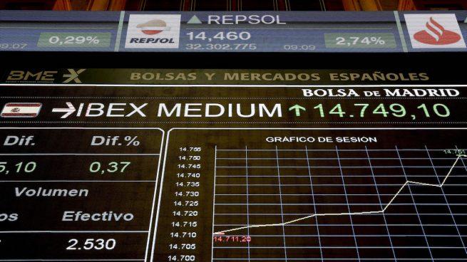Bolsa, Ibex 35: Banco Sabadell y Repsol