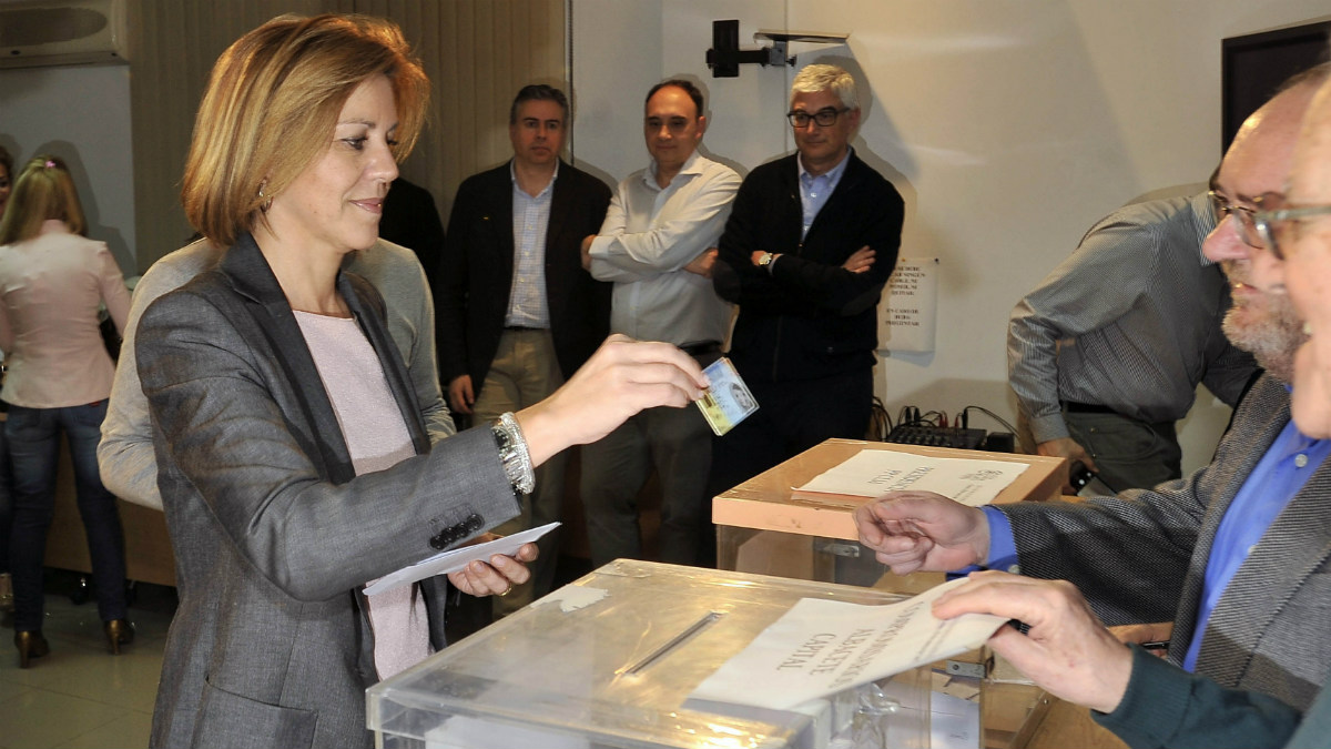 María Dolores de Cospedal será la única aspirante en el Congreso regional del PP de Castilla La Mancha (Foto: EFE)