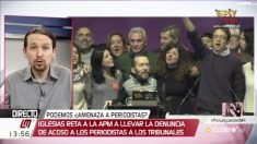 Pablo Iglesias en Cuatro.
