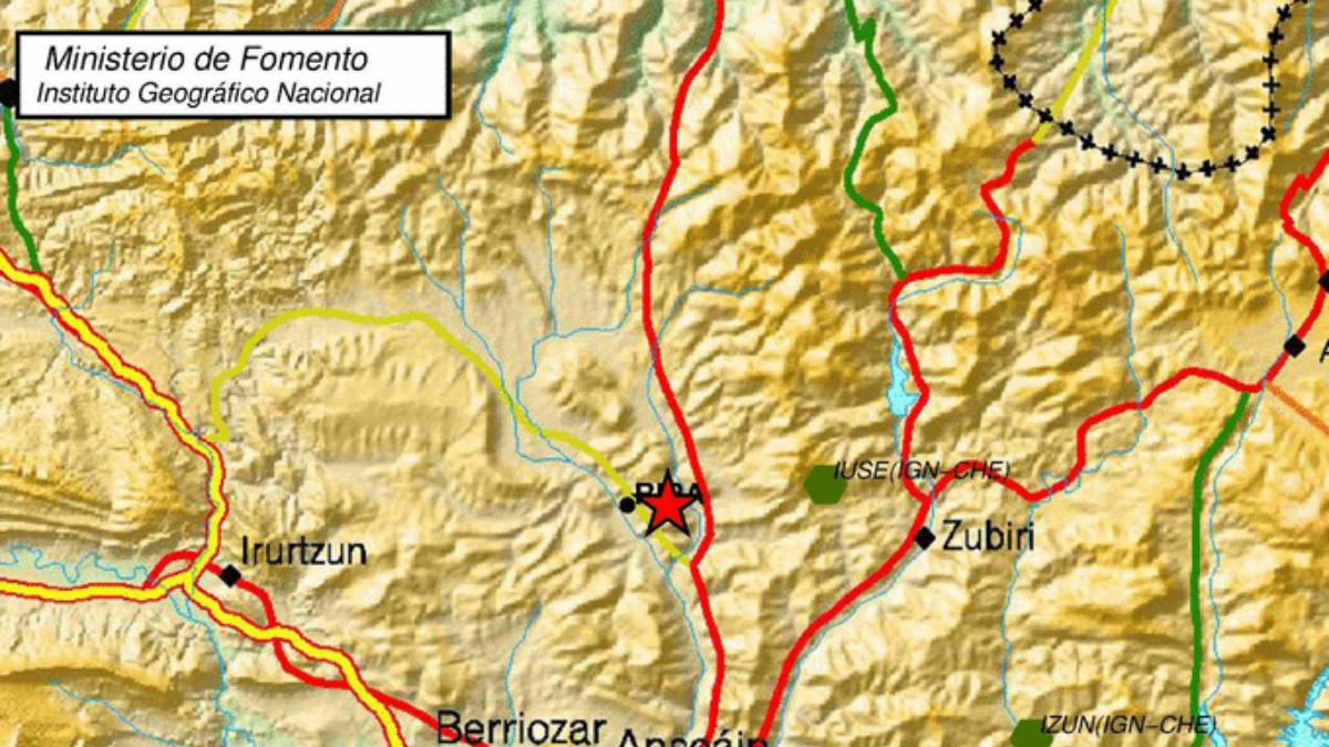 Un nuevo terremoto de 3,3 grados de intensidad sacude Navarra