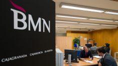 Oficinas comerciales de BMN, en Madrid.