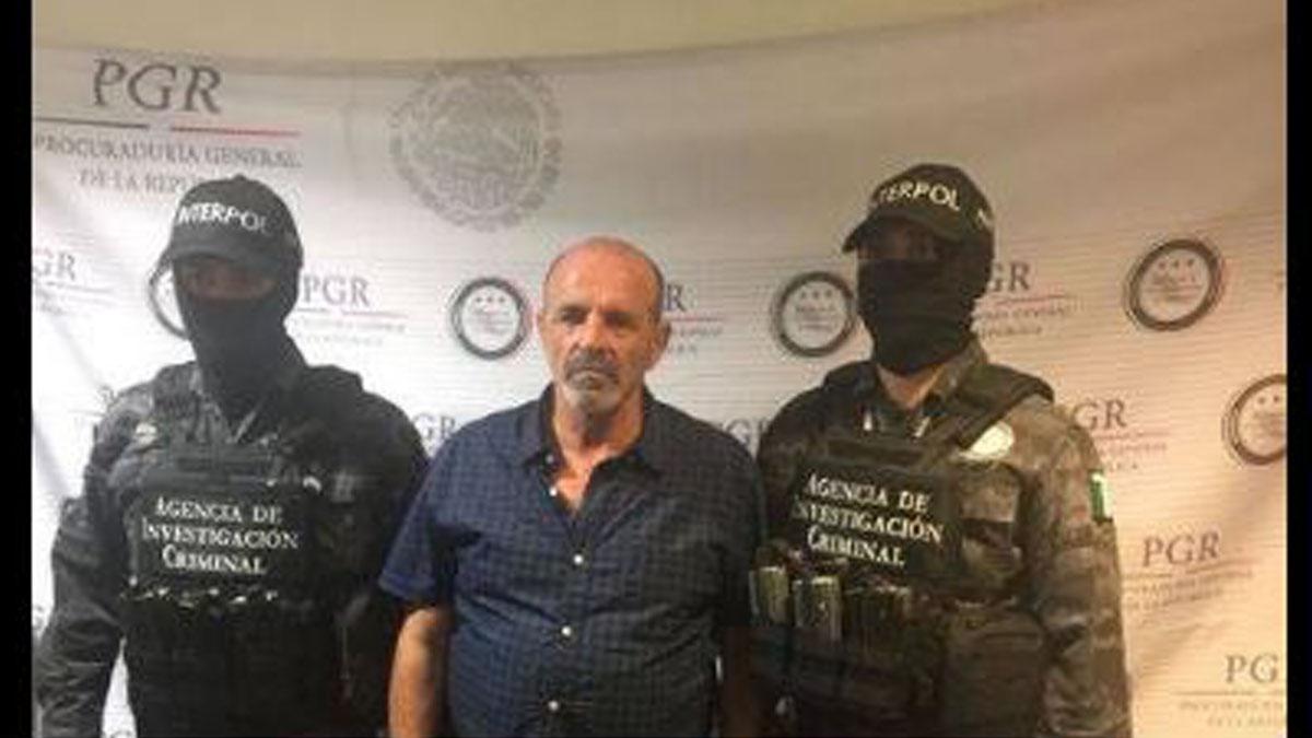 Giulio Perrone detenido en México.