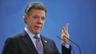 El presidente de Colombia, Juan Manuel Santos . (Foto: Getty images)