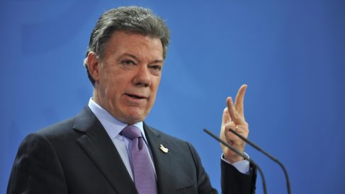El presidente de Colombia, Juan Manuel Santos . (Foto: Getty images)