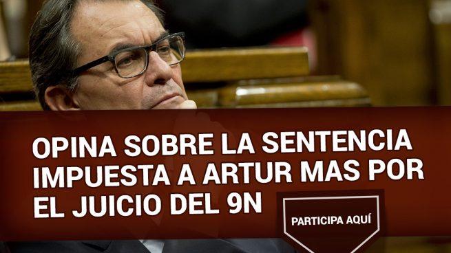 Opina sobre la sentencia impuesta a Artur Mas por el juicio del 9N