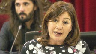 La presidenta del Govern balear, Francina Armengol (Foto: Efe)