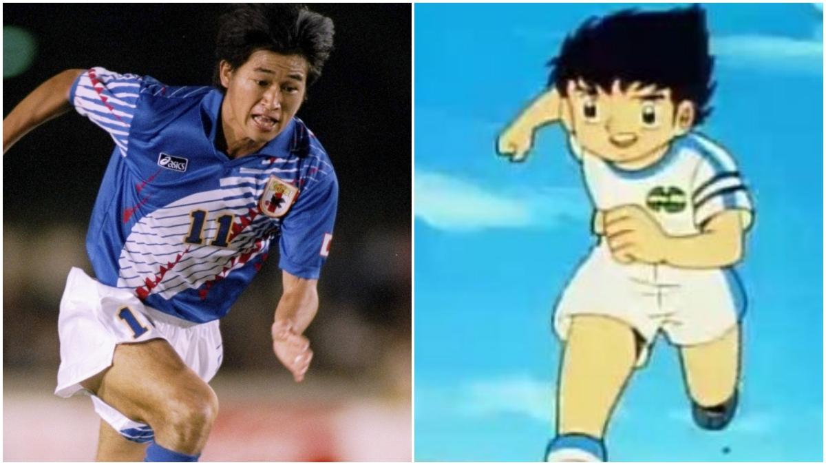 Kazu Miura y Óliver Atom
