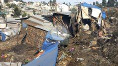 Imagen de la zona afectada por el deslizamiento de tierra (Foto: AFP).