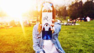 Imagen de Gïk, el vino azul