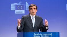 Margaritis Schinas, portavoz de la Comisión Europea.