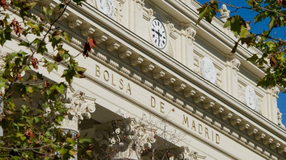 Palacio de la Bolsa de Madrid (Foto: Wikimedia).
