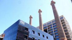 Edificio de Red Eléctrica en España.