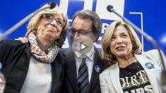 Irene Rigau, Artur Mas y Joana Ortega. (Foto: EFE)