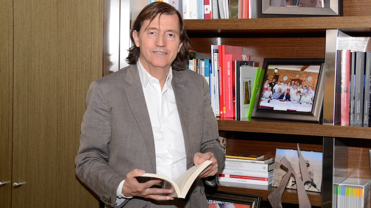 Baltasar Santos, ex alcalde popular de Navalcarnero (Madrid).