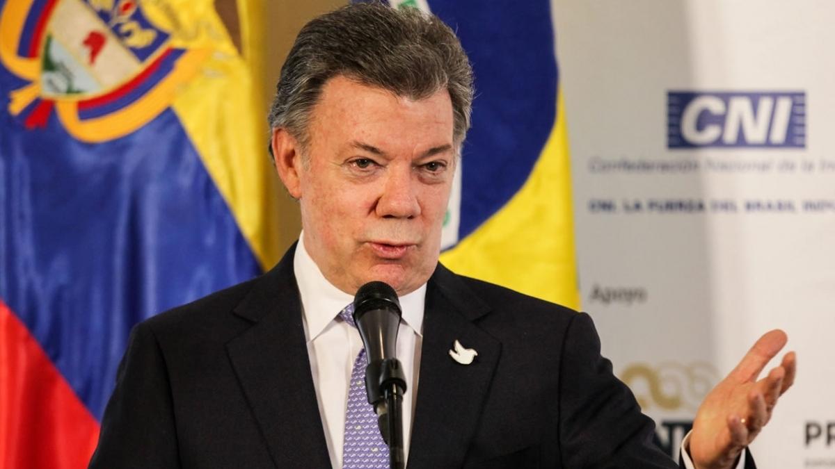 Juan Manuel Santos, presidente de Colombia (Foto: Gobierno de Colombia)