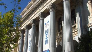 Exterior de la Bolsa de Madrid (Foto: BME)
