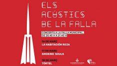 Fallas 2017 Conciertos de la Falla Municipal (Foto: Twitter)