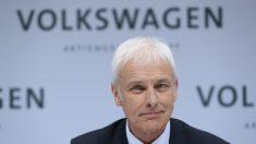 Consejero delegado de Volkswagen, Matthias Müller (Foto: Getty).