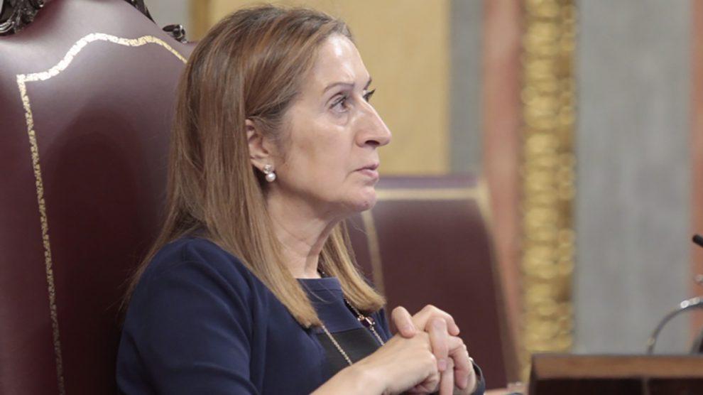 Ana Pastor presidiendo el Congreso de los Diputados (Foto: Francisco Toledo)