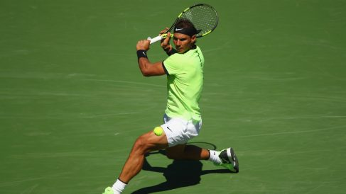 Rafa Nadal se impone a Fernando Verdasco en Indian Wells (Foto:Getty)