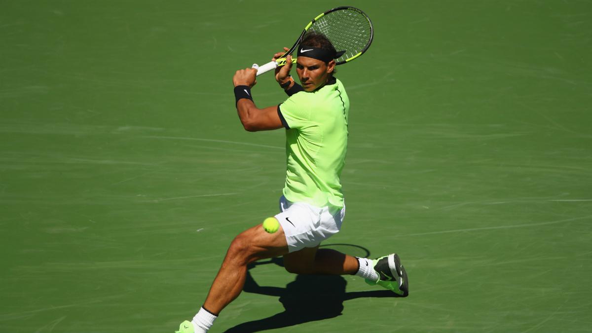 Rafa Nadal se impone a Fernando Verdasco en Indian Wells (Foto:Getty)