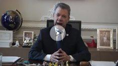 Juan Manuel Santos, presidente de Colombia, defiende su inocencia en el 'caso Odebrecht'.