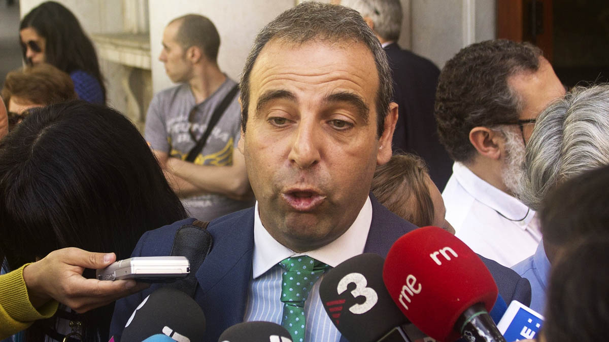 Antonio Alberca, el mediático abogado y preidente de Justitia et Veritas (Foto: EFE)