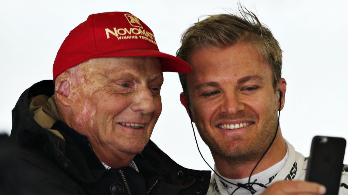 Niki Lauda todavía no ha digerido bien la prematura retirada de Nico Rosberg. (Getty)