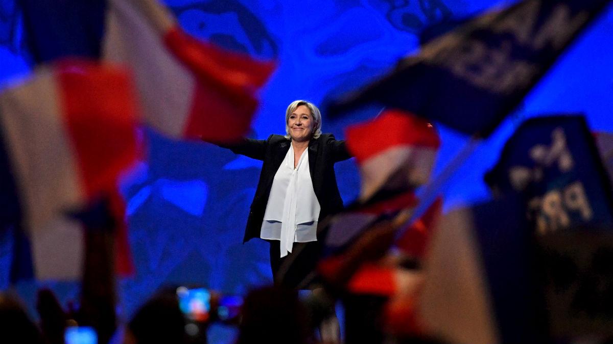 Marine Le Pen (Foto: GETTY).