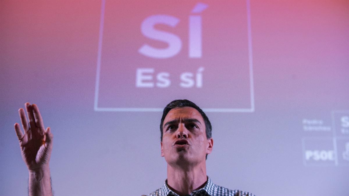 Pedro Sanchez. (Foto: EFE)