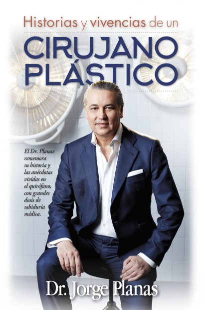 """Jorge Planas firma """"Historias y vivencias de un cirujano plástico""""."""