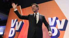 Mark Rutte, primer ministro de Holanda. (Foto:AFP)