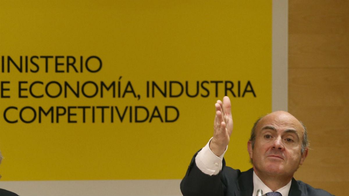 Luis de Guindos (Foto: EFE).