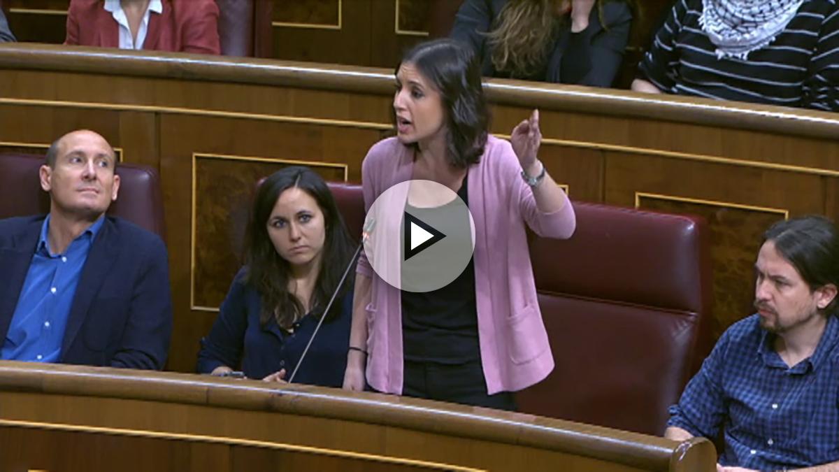Los diputados de Podemos y del PP han protagonizado un nuevo desencuentro en el Congreso