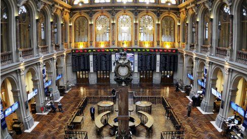 Interior de la Bolsa de Madrid (Foto. BME)