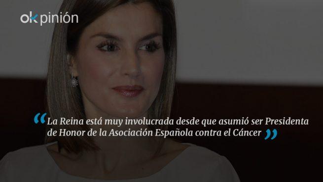 Doña Letizia viaja a Oporto para apoyar la lucha contra el cáncer