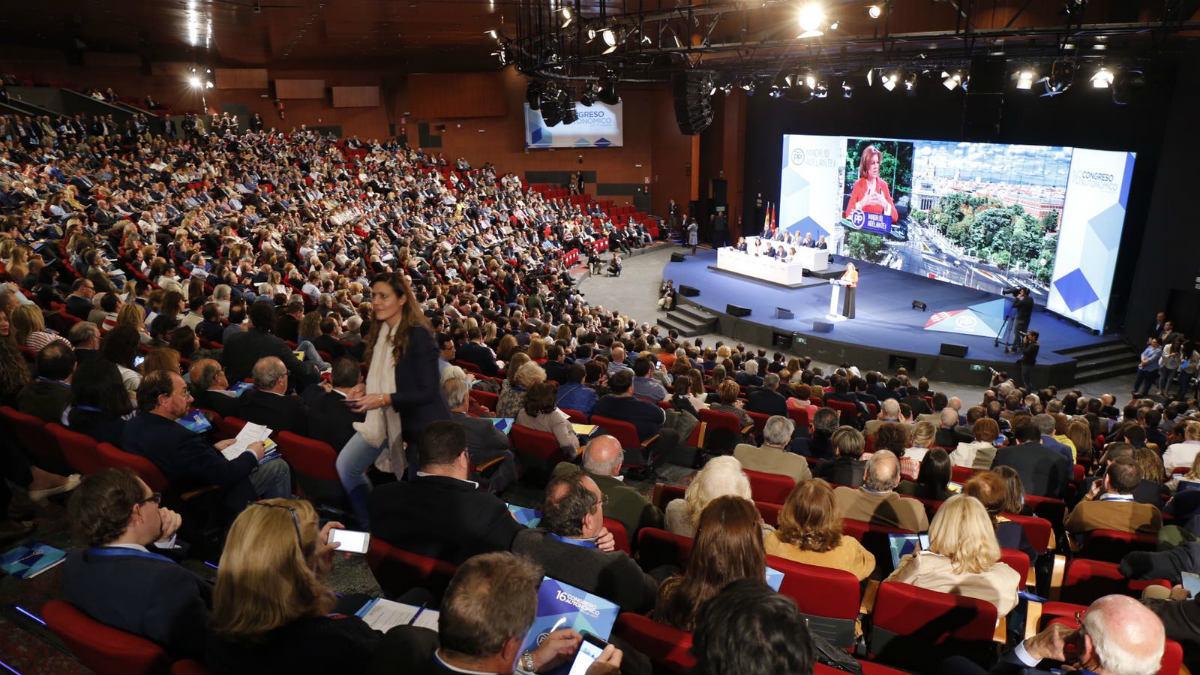 Plenario del Congreso del PP de Madrid (Alberto Cuéllar/ PP Madrid).