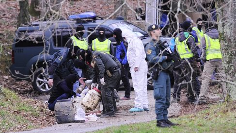 Zulo de ETA. (Foto: AFP)