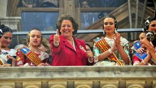 Fallas 2017: Rita Barberá homenajeada por la comisión Bilbao-Maximiliano Thous