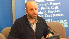 El portavoz de En Marea en el Parlamento de Galicia, Luis Villares (Foto: En Marea)