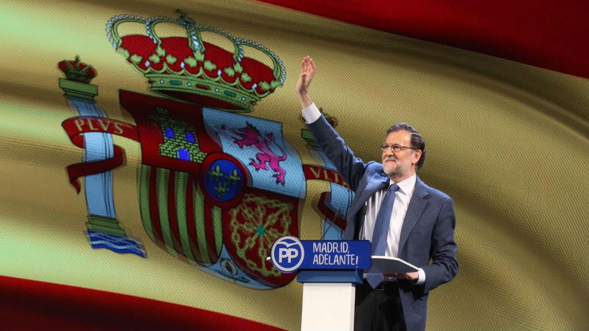 El presidente del PP, Mariano Rajoy (Alberto Cuéllar PP Madrid)