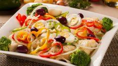Receta de ensalada de bacalao