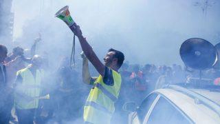 Huelga de taxistas (Foto: EFE).
