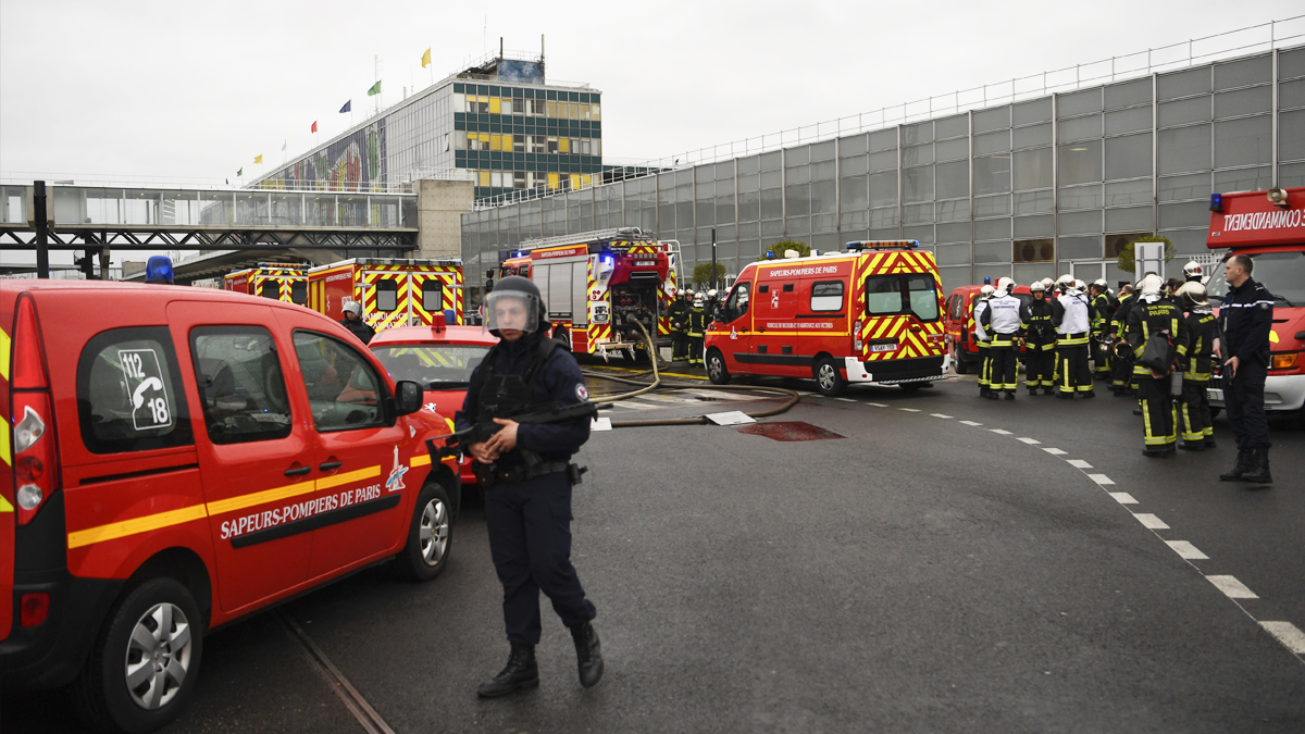 Aeropuerto de Orly. (Foto: AFP)